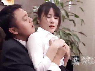 My Chinese beauty secretary is super sexy