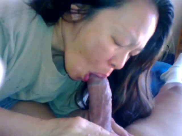 Chinese wife knows how to a coxk